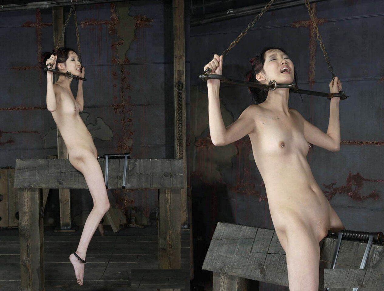 全裸 緊縛 拷問 調教,三角木馬,拷問,エロ画像