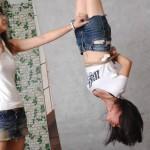 【縛りの技術】女性を吊るし上げる方法が良く分かる画像