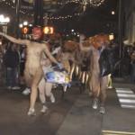 海外のおっぱい祭り画像(※ハロウィン・ワールドカップ・裸サイクリング)