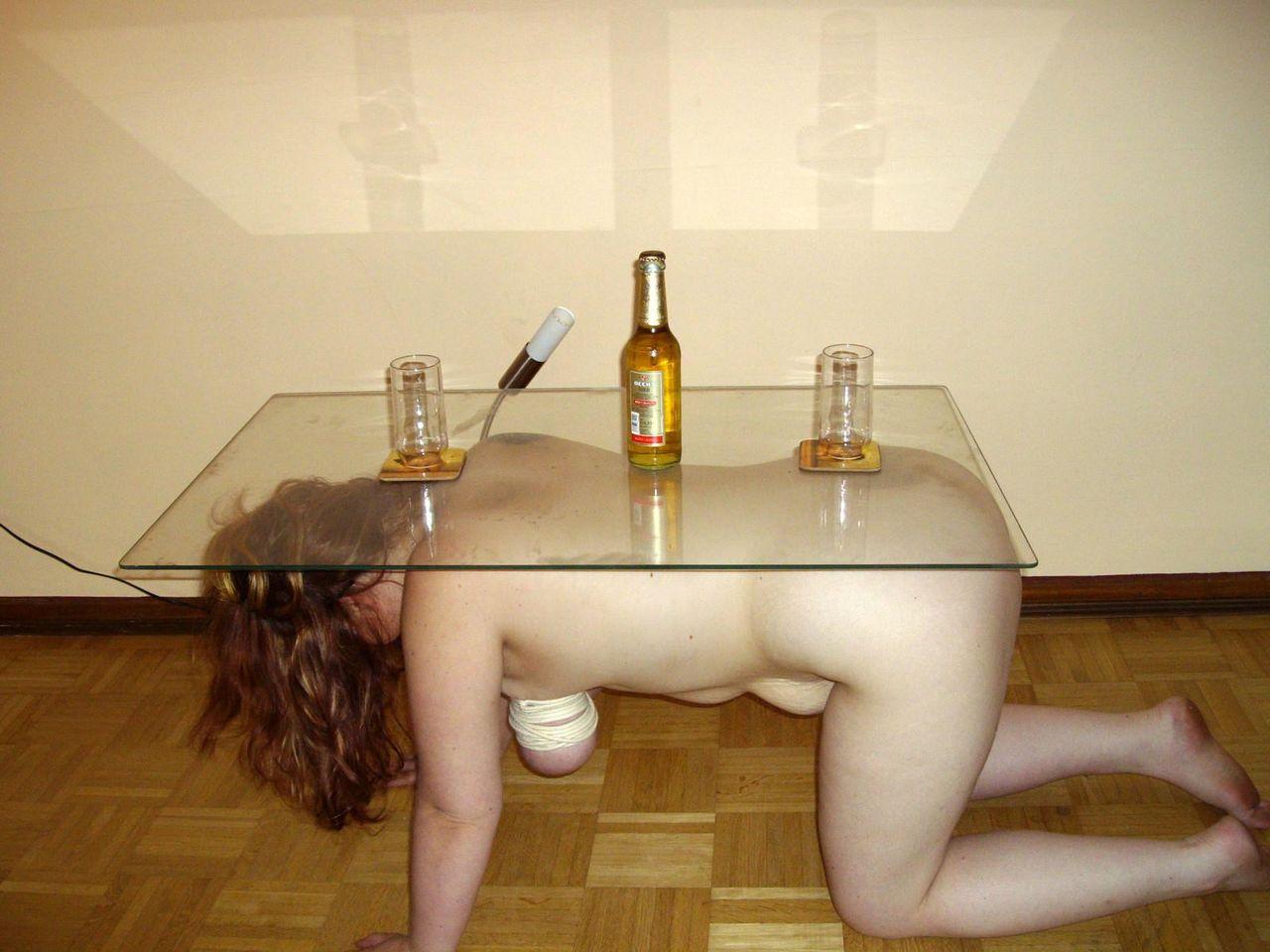 マゾ,人間家具,人間テーブル,人間イス,エロ画像
