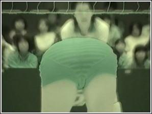 【画像】バレーボール選手を赤外線で透視してみるテスト
