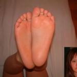 性癖が脚フェチではなく足裏フェチのエロ画像(※ぶっかけあり)
