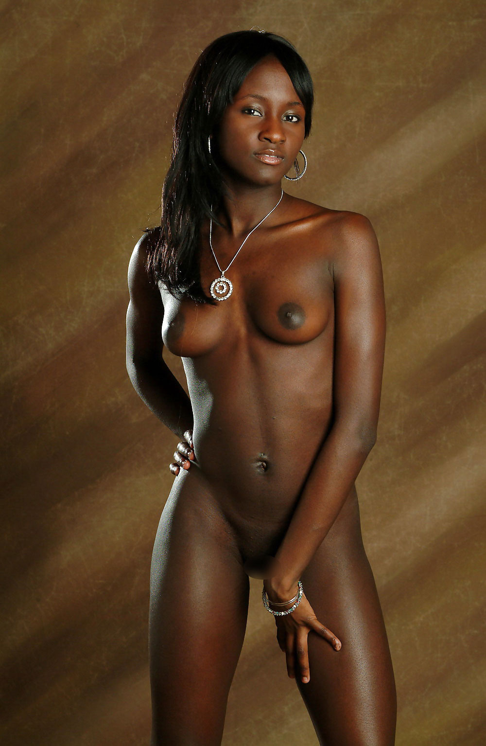 Naked Dark Skinned Women