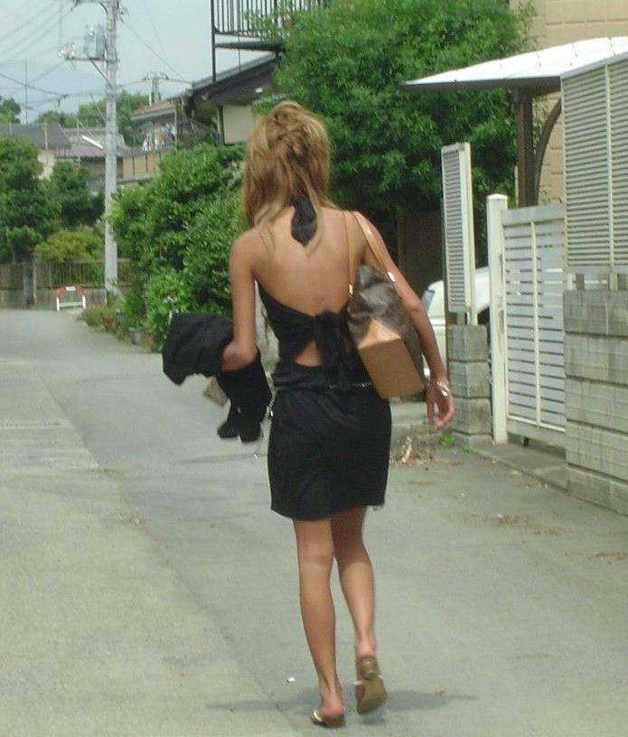 ギャル ファッション 街撮り 盗撮 過激 露出 勃起 エロ画像【26】