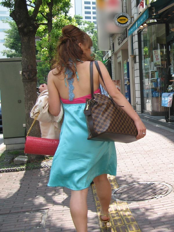ギャル ファッション 街撮り 盗撮 過激 露出 勃起 エロ画像【29】