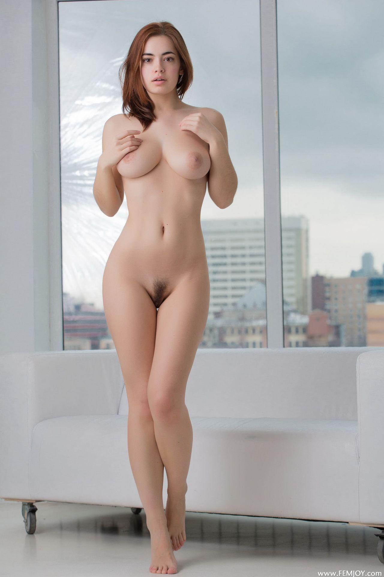 Red Head In Bikini
