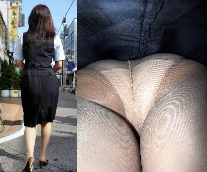 OL パンツ 逆さ撮り 働く女性 ローアングル エロ画像【31】