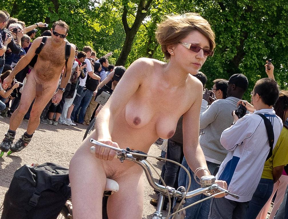 サイクリング 日本 海外 裸 自転車 エロ画像【15】