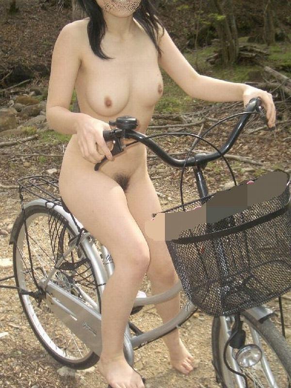 サイクリング 日本 海外 裸 自転車 エロ画像【16】
