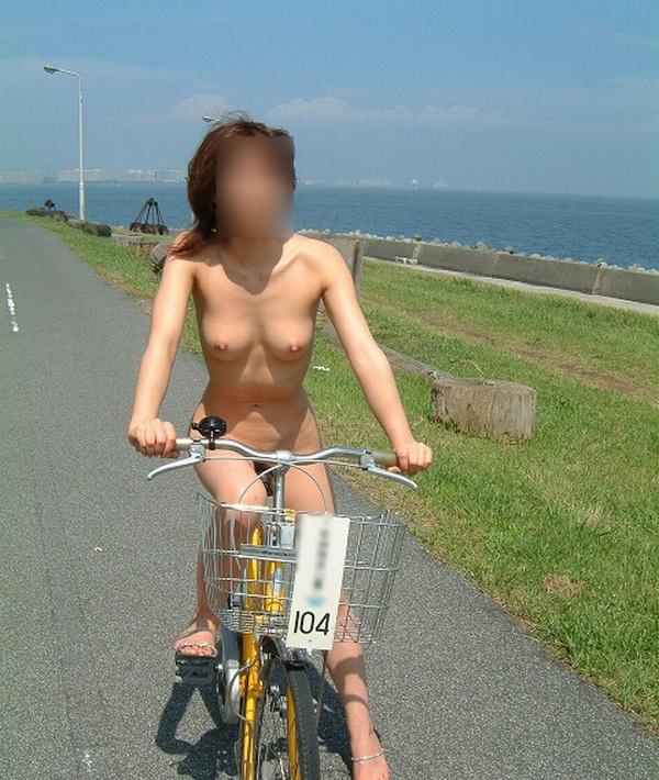 サイクリング 日本 海外 裸 自転車 エロ画像【26】