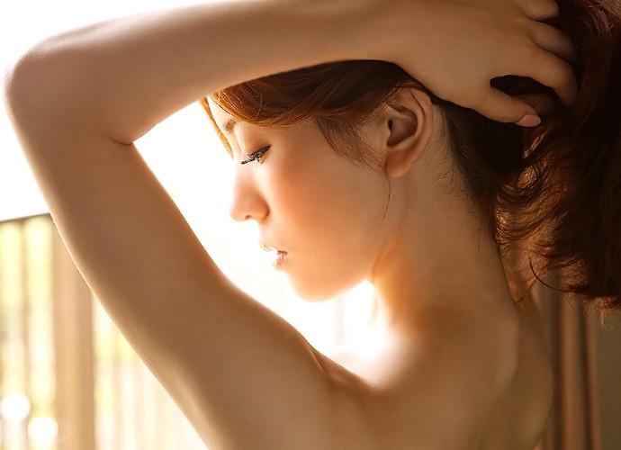 うなじ アップ 首筋 接写 フェチ エロ画像【17】