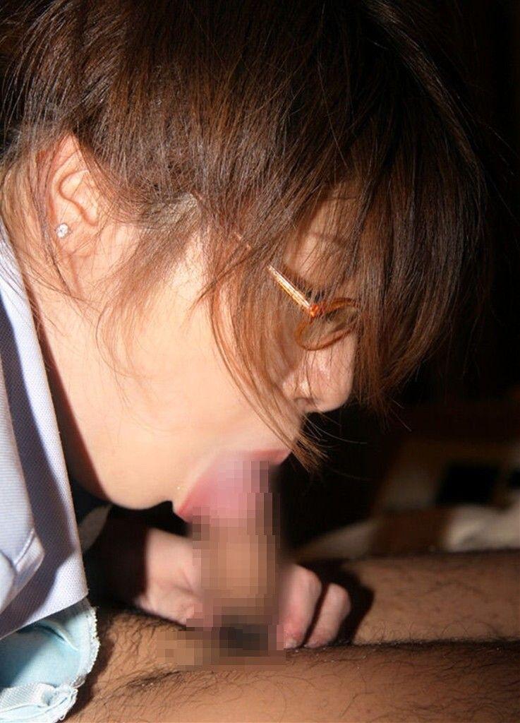悪そう グラサン 知的 メガネ フェラチオ エロ画像【3】