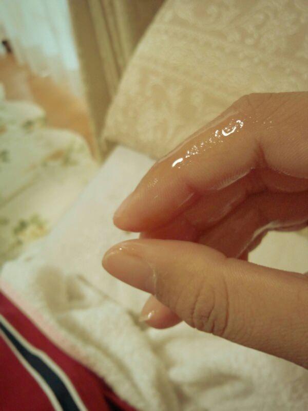 マンコ 濡れる 糸引き 女神 指 マン汁 自画撮り 投稿 エロ画像【13】
