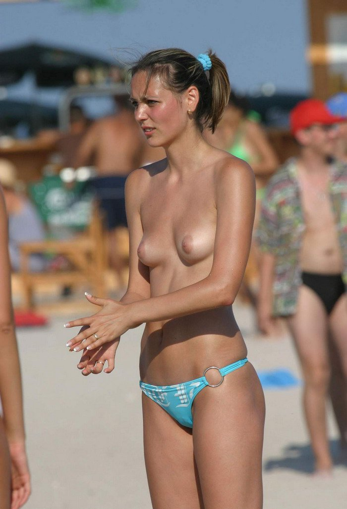 Nude Tits On The Beach