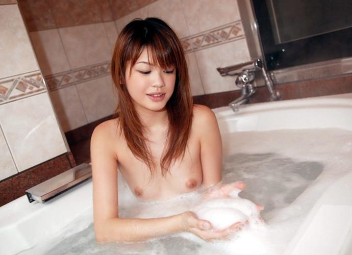 すっぽんぽん 美女 泡風呂 エロ画像【19】