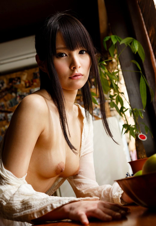 ビッチ 美女 清楚 美少女 黒髪 美人 エロ画像【23】