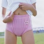 ピンクブルマが少女っぽくて愛らしい桃色体育着のエロ画像