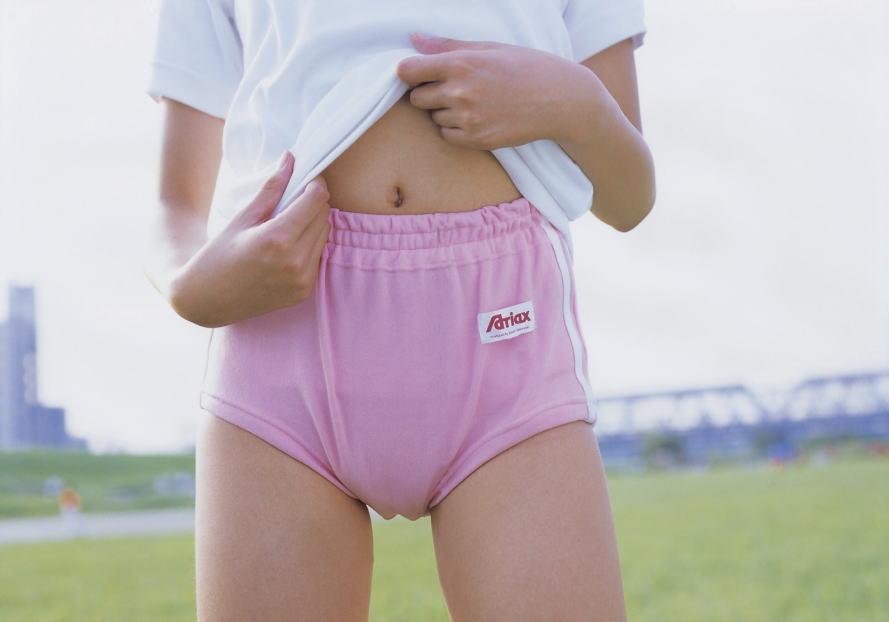 ピンク ブルマ 愛らしい 桃色 体育着 エロ画像