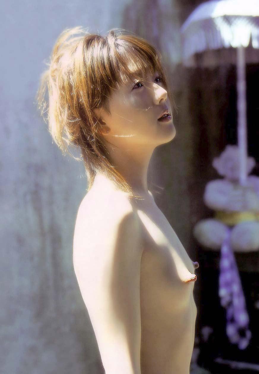 小さい おっぱい 貧乳 横乳 エロ画像【12】