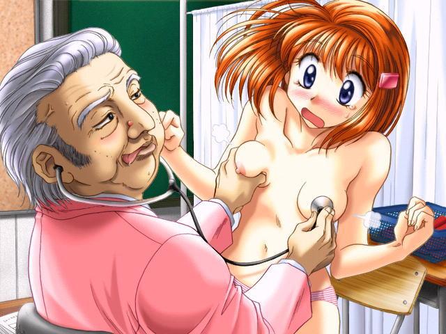 乳首 聴診器 おっぱい 診察 二次元 エロ画像