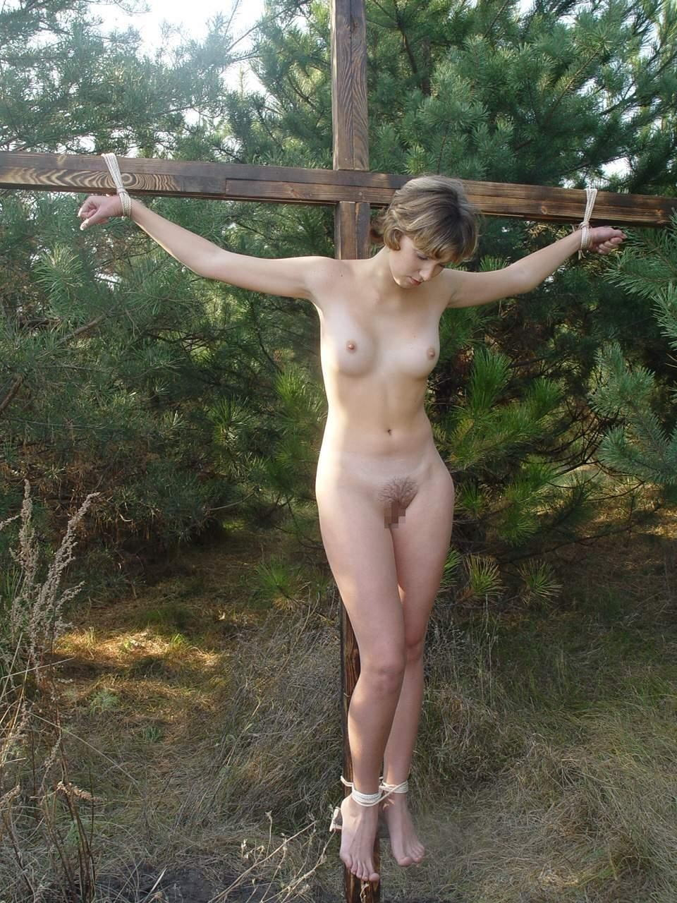 Fleshlight! crucifixion girl av