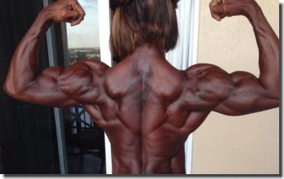 筋肉がバキバキのムキムキで膣圧も強そうなヌード画像集 ④