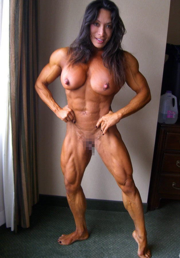 Ripped Female Nude