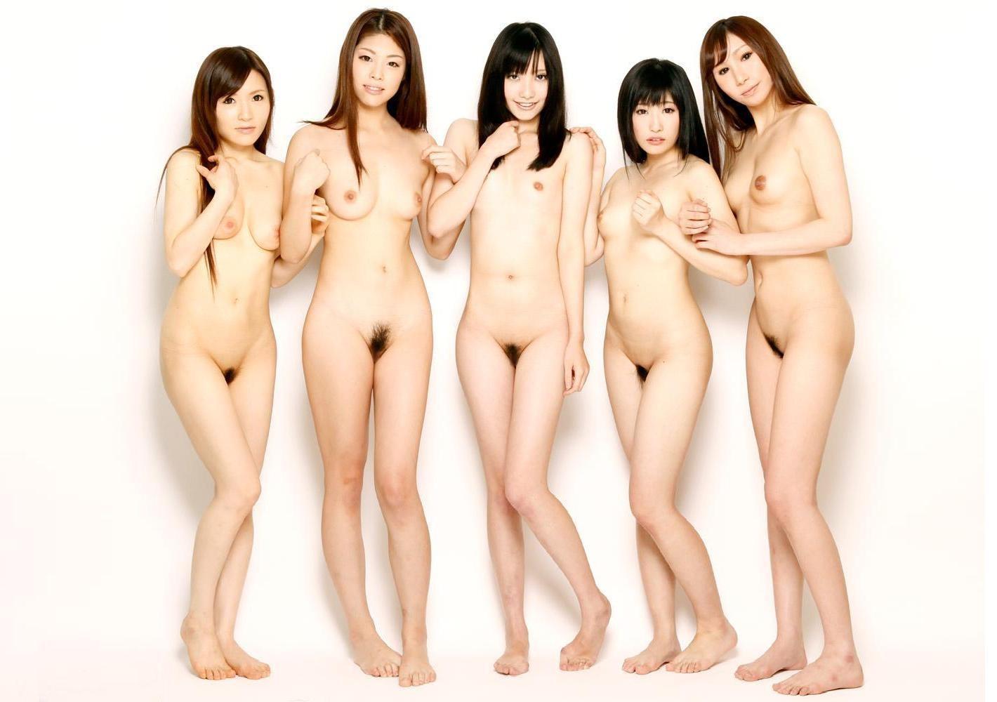 集団 ヌード エロ 全裸 集合 大人数 複数 ヌード エロ画像【19】