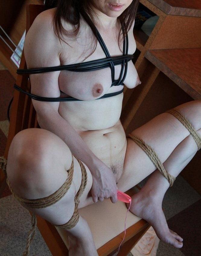ボンレス おばさん 縛る 緊縛 熟女 エロ画像【34】