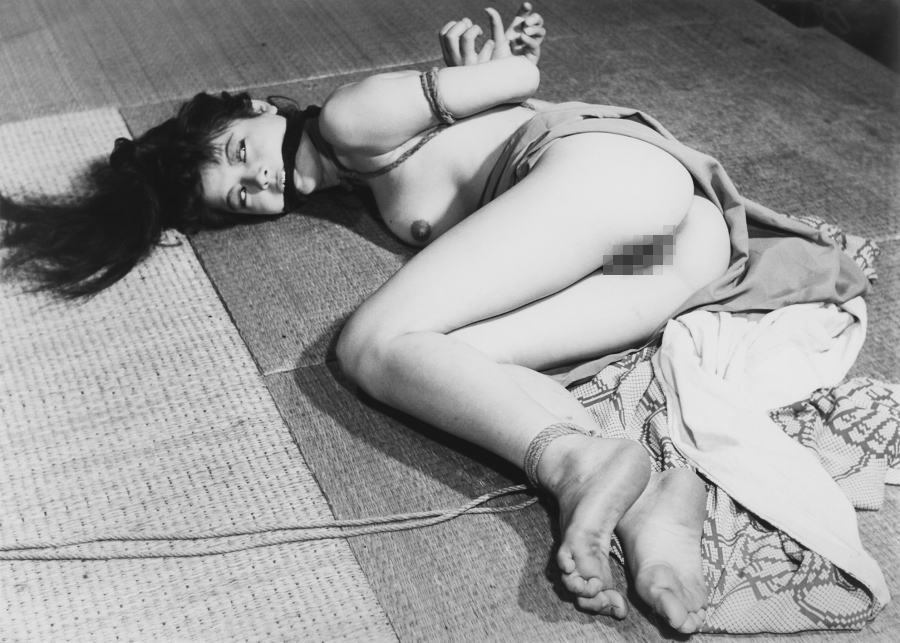 畳 縁側 縛る 日本家屋 情緒 和室 緊縛 エロ画像【34】