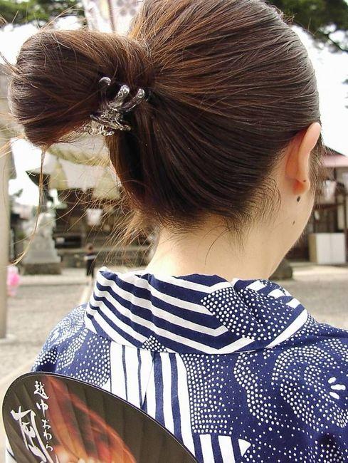 着物 浴衣 和服 うなじ 色っぽい 襟足 エロ画像【20】