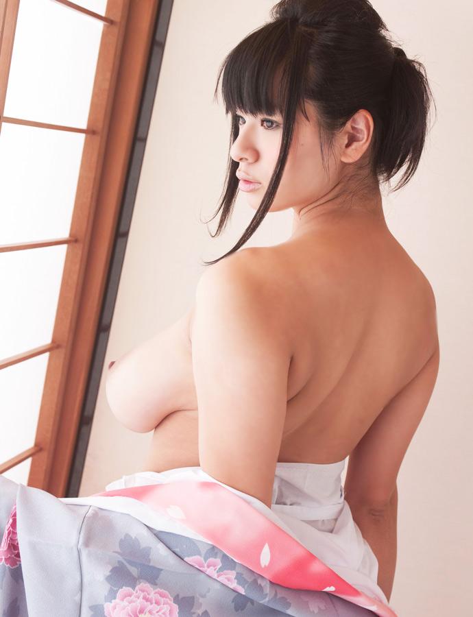 着物 浴衣 和服 うなじ 色っぽい 襟足 エロ画像【34】