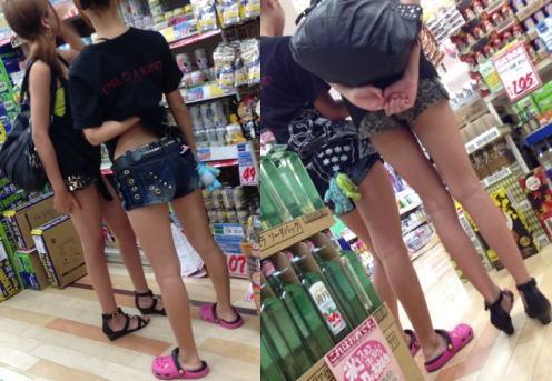 若々しい成人ギャルの生々しい脚がエロすぎた件wwwwwwwwww