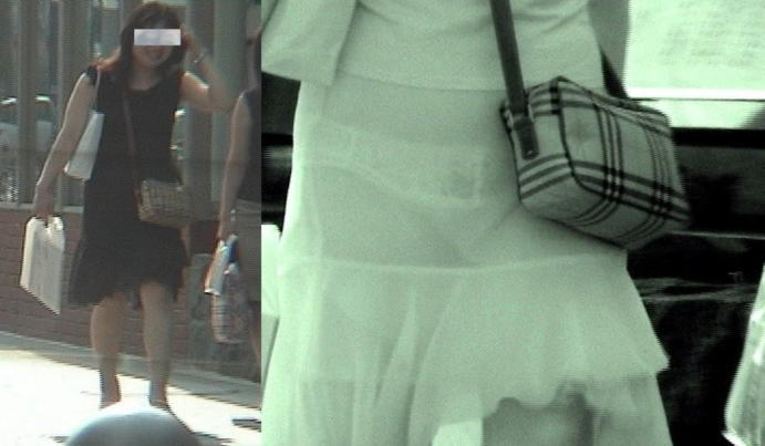 街中で赤外線カメラを使ったら凄い光景が…(20枚)
