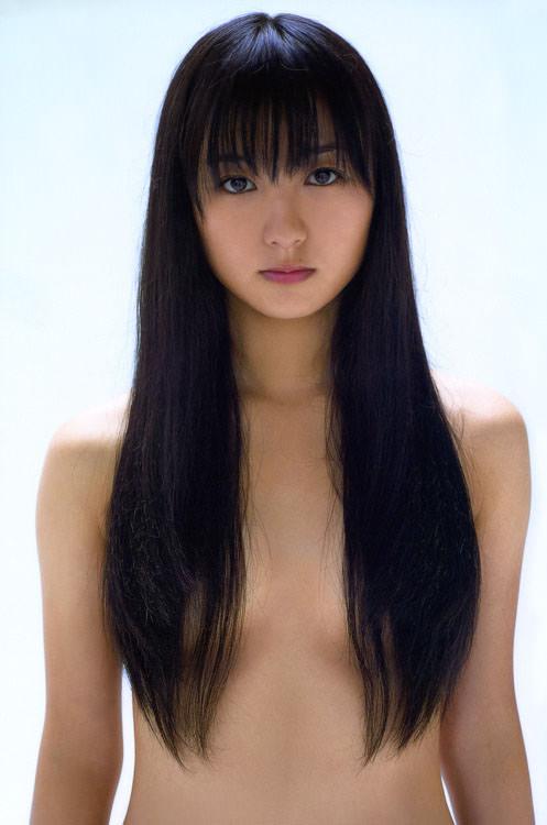 お姉さん ロングヘア 乳首 隠す 髪ブラ 美女 エロ画像【29】