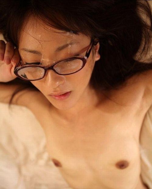 貧乳 メガネ おっぱい 地味 エロ画像【12】