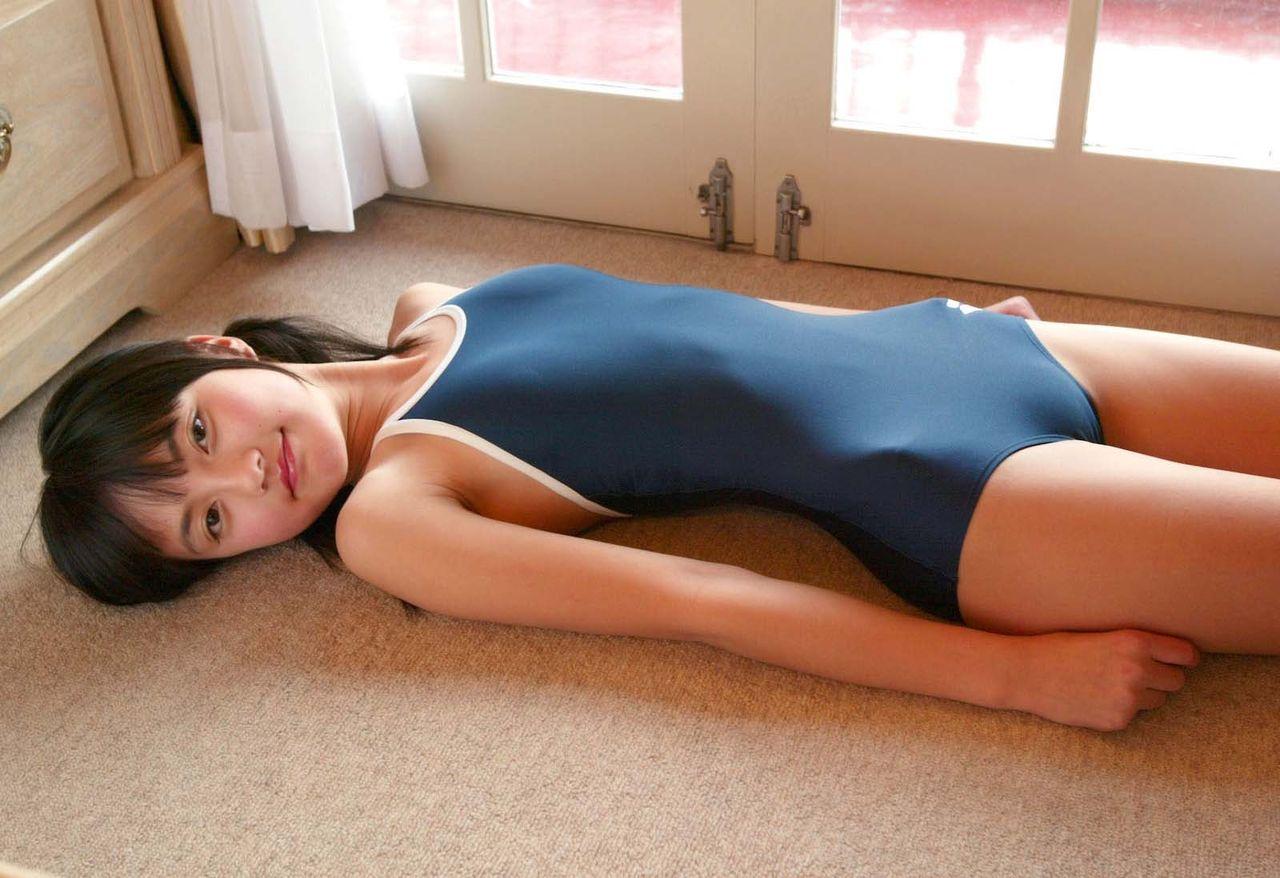 水着 もりまん スク水 競泳水着 股間 ぷっくり エロ画像【6】