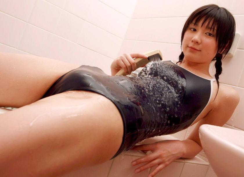 水着 もりまん スク水 競泳水着 股間 ぷっくり エロ画像【8】