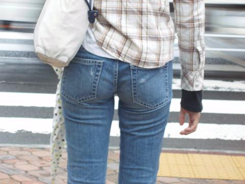 ジーパン 街撮り お尻 デニム ジーンズ エロ画像【38】