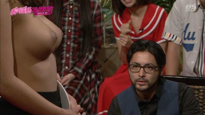 【画像あり】BS番組で素人娘達がおっぱい丸出しwww「子供も見てるぞww」「ガチで見せてるww」