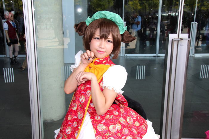 東京ゲームショウで亜夢さおりさんのパンツを撮影した画像が2chにうpされるwwwww