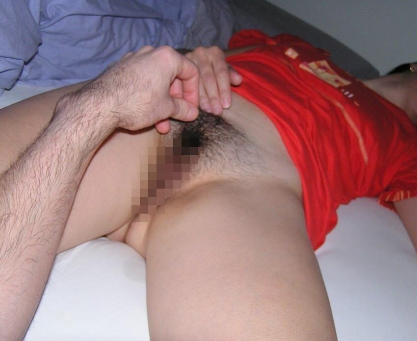 寝込み 悪戯 起きない 爆睡 エロ画像【26】