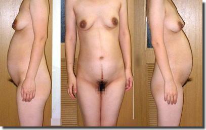 妊娠中のお腹や黒乳首がエロい素人妊婦のヌード画像を下さい ④
