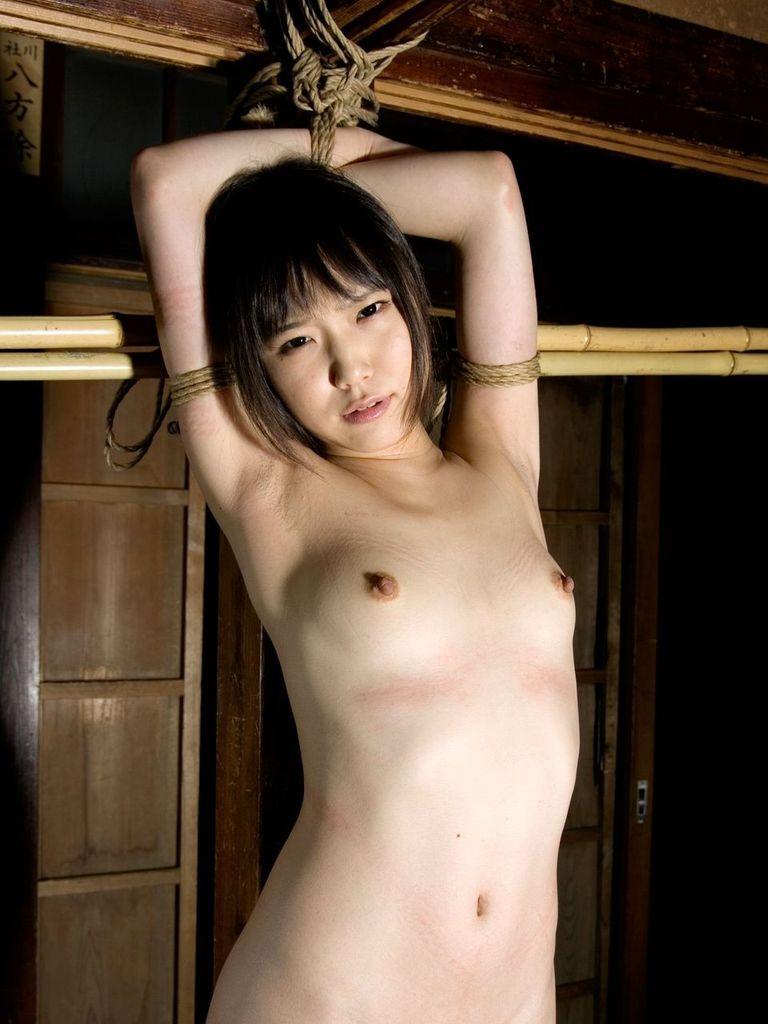 美女 緊縛 縄 縛る 捕縛 美人 エロ画像【13】
