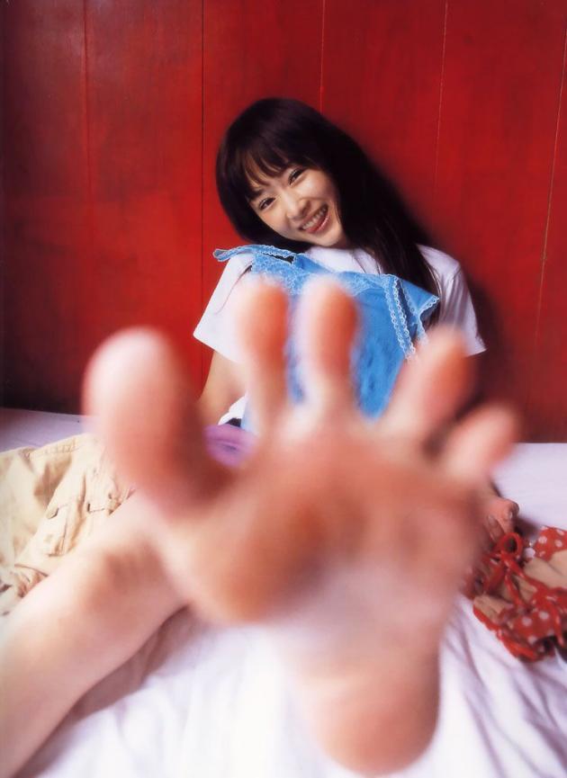美女 足裏 足フェチ グルメ エロ画像【25】