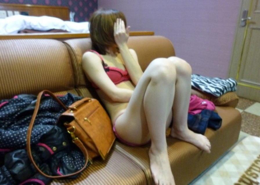 素人 ギャル デリヘル嬢 写真撮影 ラブホテル エロ画像