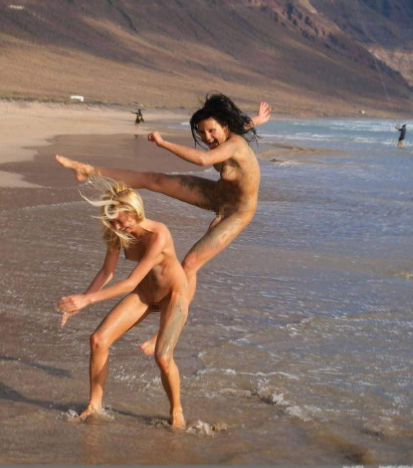 家族ヌード ドイツ ヌーディストビーチ FKK 裸体主義 エロ画像【1】