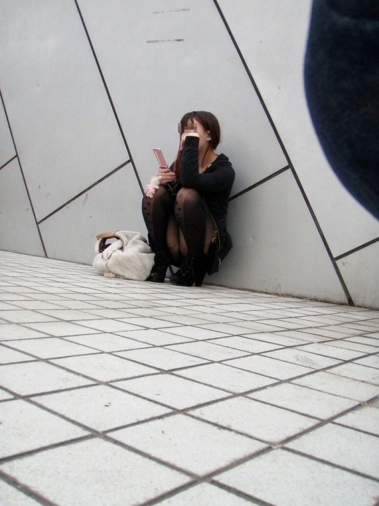 パンツ 街撮り ラッキー パンチラ ストリート エロ画像【5】
