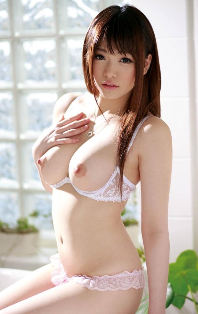 美女 おっぱい ブラジャー カップレスブラ エロ画像【35】