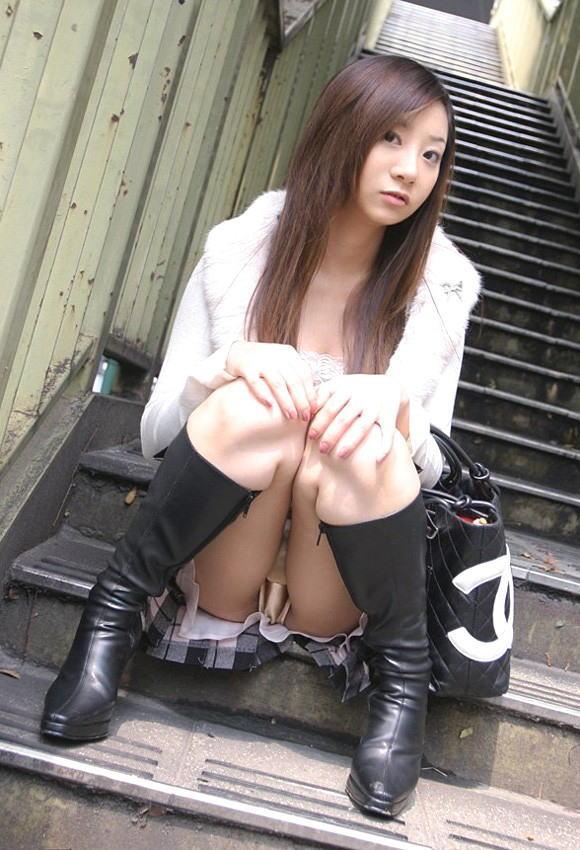 パンツ 美女 パンチラ エロ画像【49】